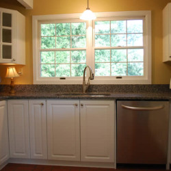 Updated kitchen in country setting will appeal to a larger pool of buyers.