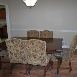 Creekwood conference table & chairs