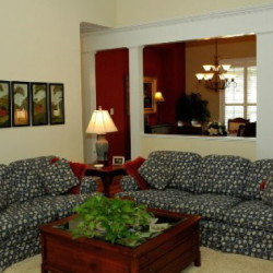 Before home staging consultation.