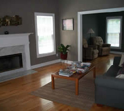 Cold and dark paint before home staging consultation