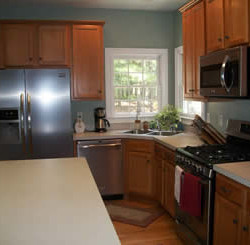 Appliances have been updated however buyers are willing to pay more money for a move in ready house.