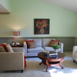 Springridge living room after